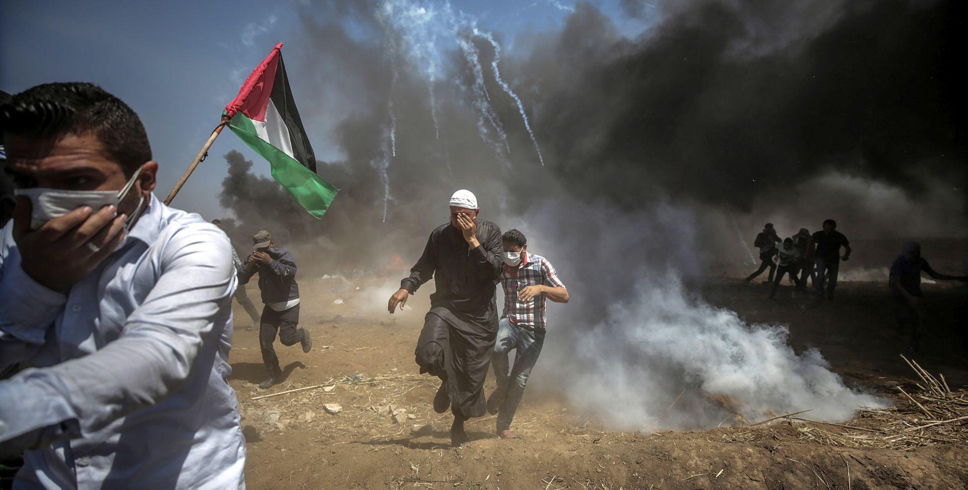 Palestinci pokapaju mrtve, bombardirani ciljevi Hamasa