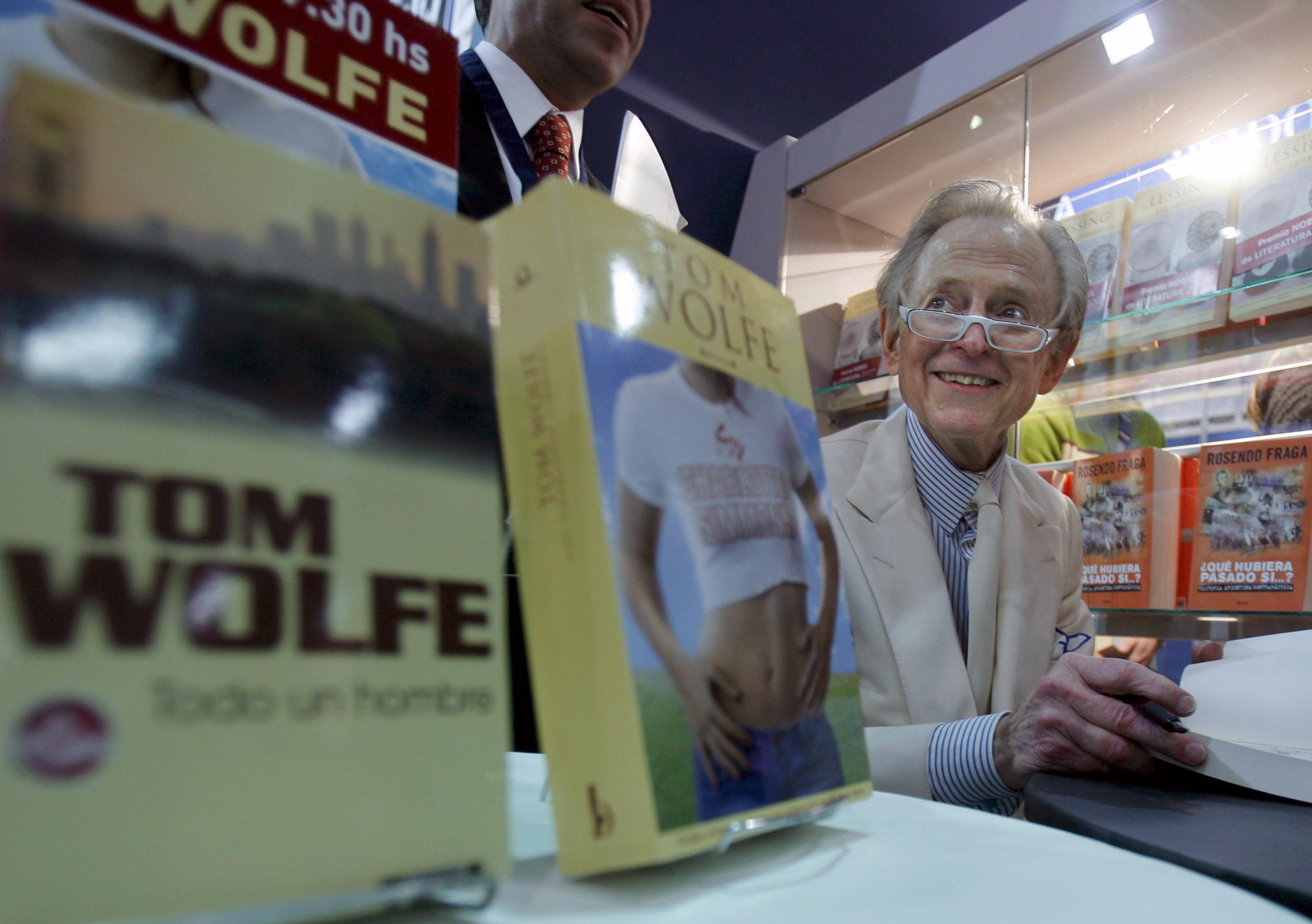 """Umro američki novinar Tom Wolfe, pionir """"novog novinarstva"""""""