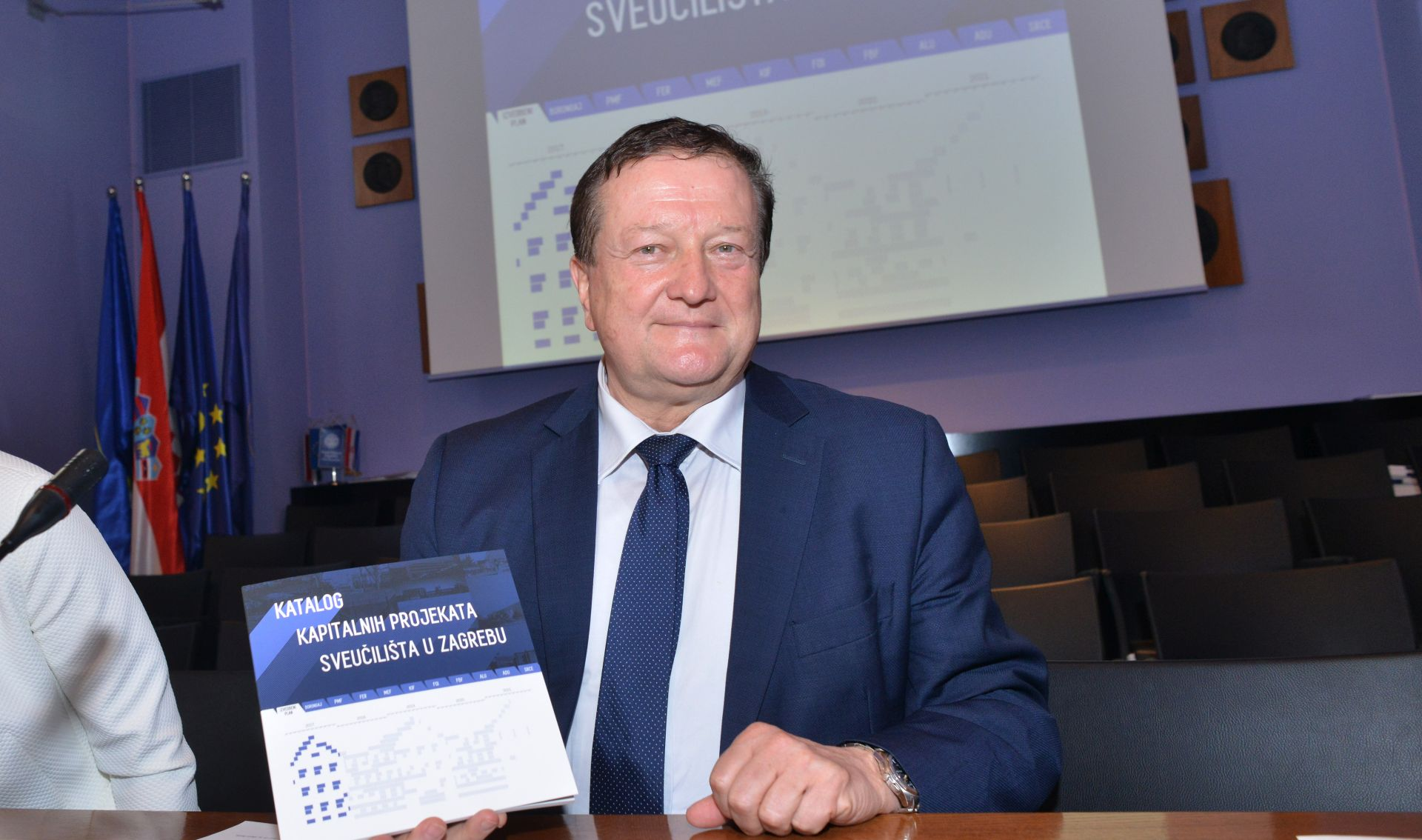 Sveučilište u Zagrebu predstavilo katalog kapitalnih projekata
