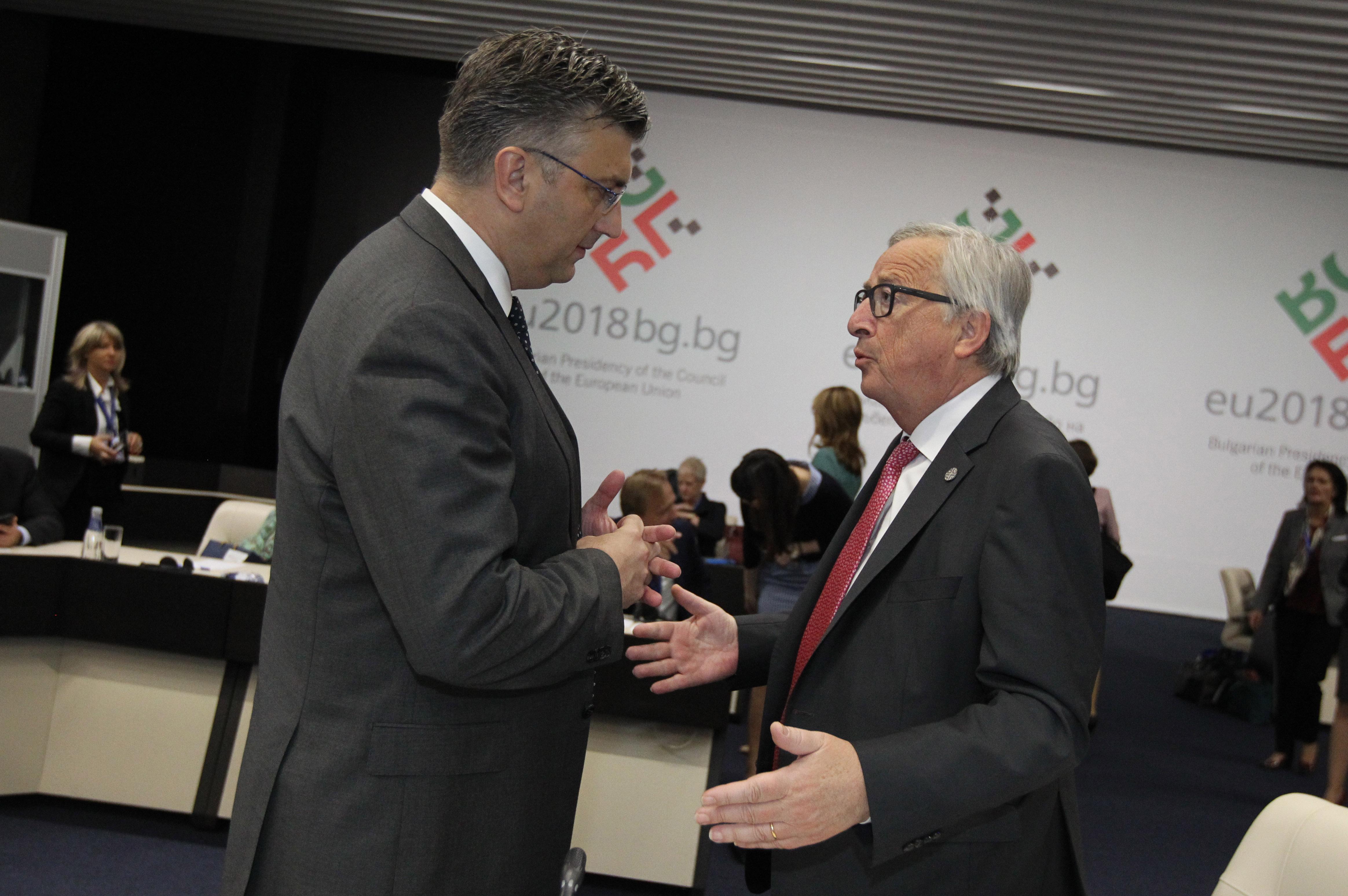 Plenković zadovoljan prijedlogom da se sljedeći summit EU zapadni Balkan održi u Zagrebu