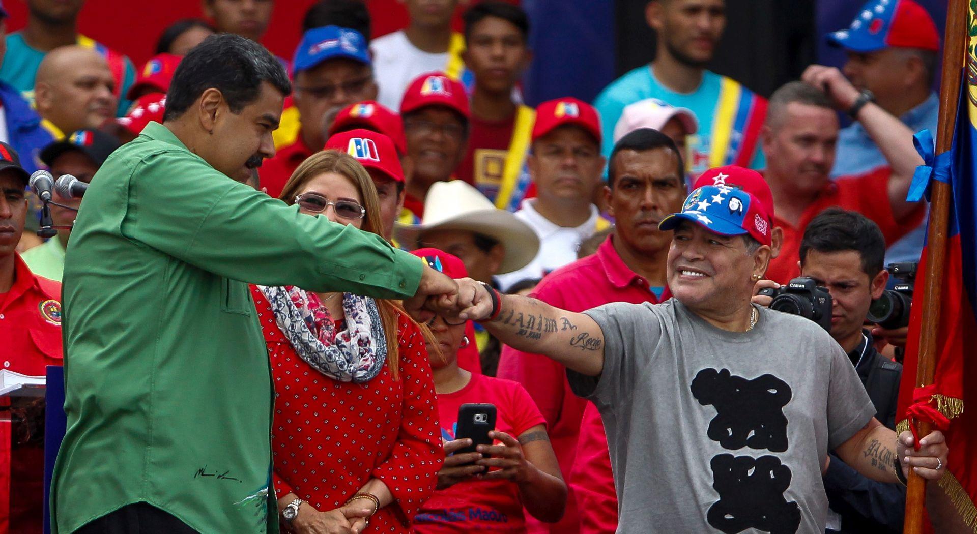 """Maradona Madurov """"vojnik"""" na zadnjem skupu u kampanji"""