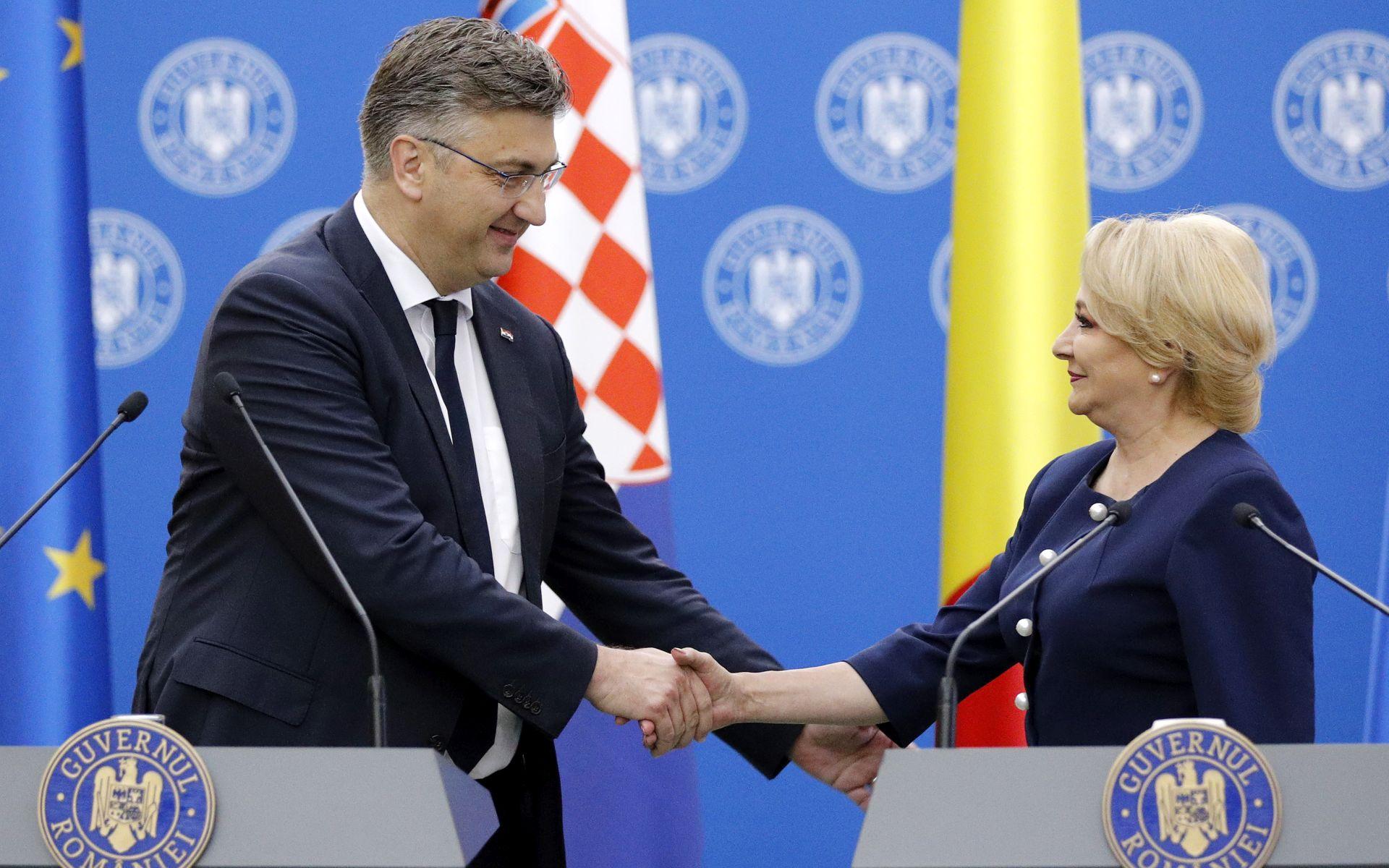 'Suradnja Hrvatske i Rumunjske nikad nije bila bolja'
