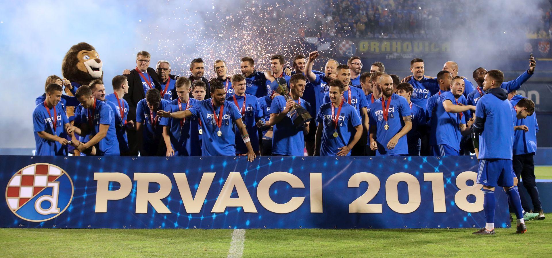Dinamo pobjedničku sezonu zaključio slavljem protiv Intera