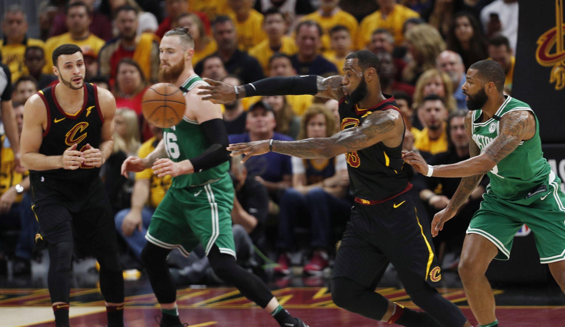 NBA Cleveland uvjerljivo do prve pobjede nad Bostonom