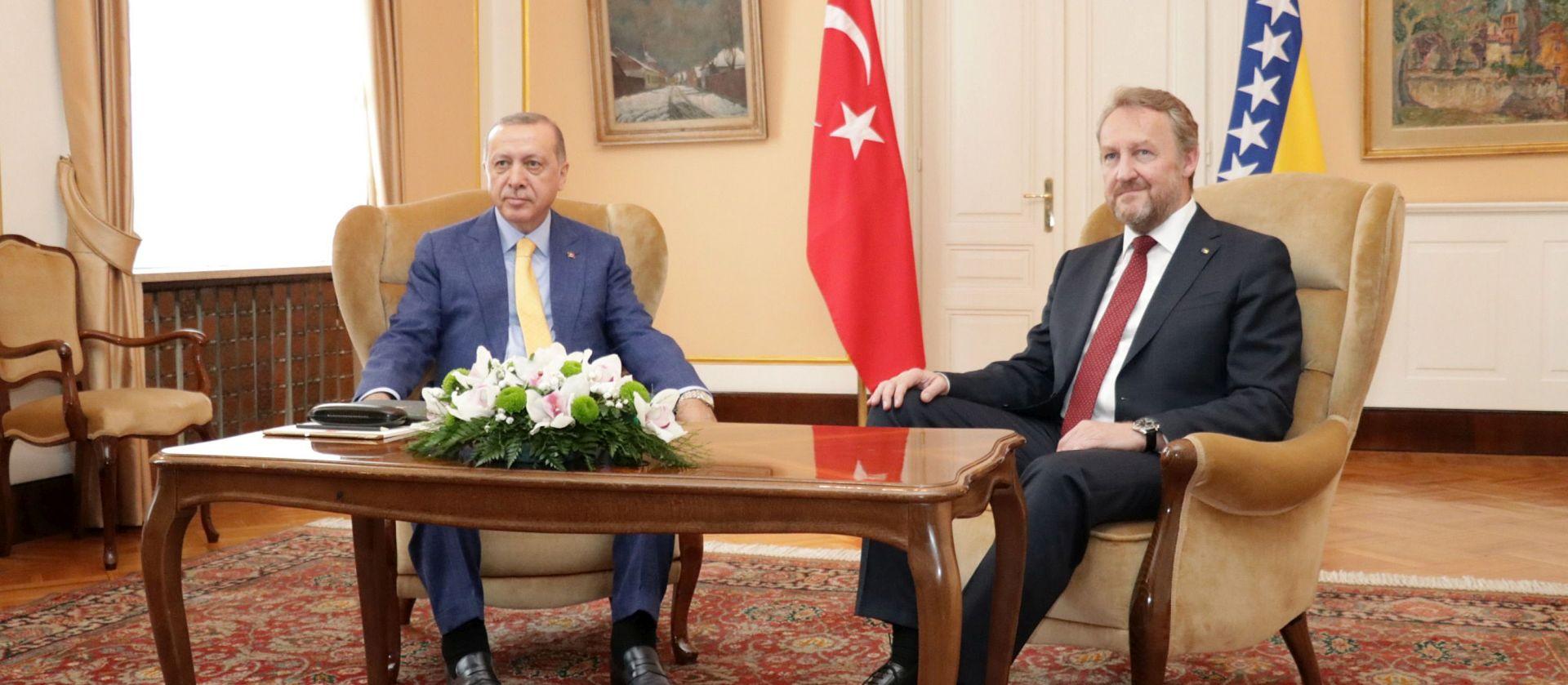 Erdogan obećao potporu BiH, traži pomoć u obračunu s protivnicima