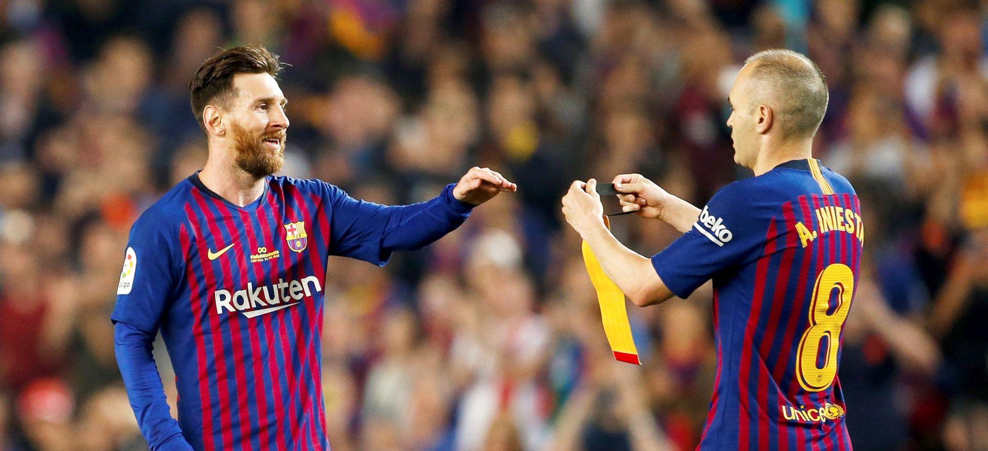 Iniesta se pobjedom oprostio od Barcelone