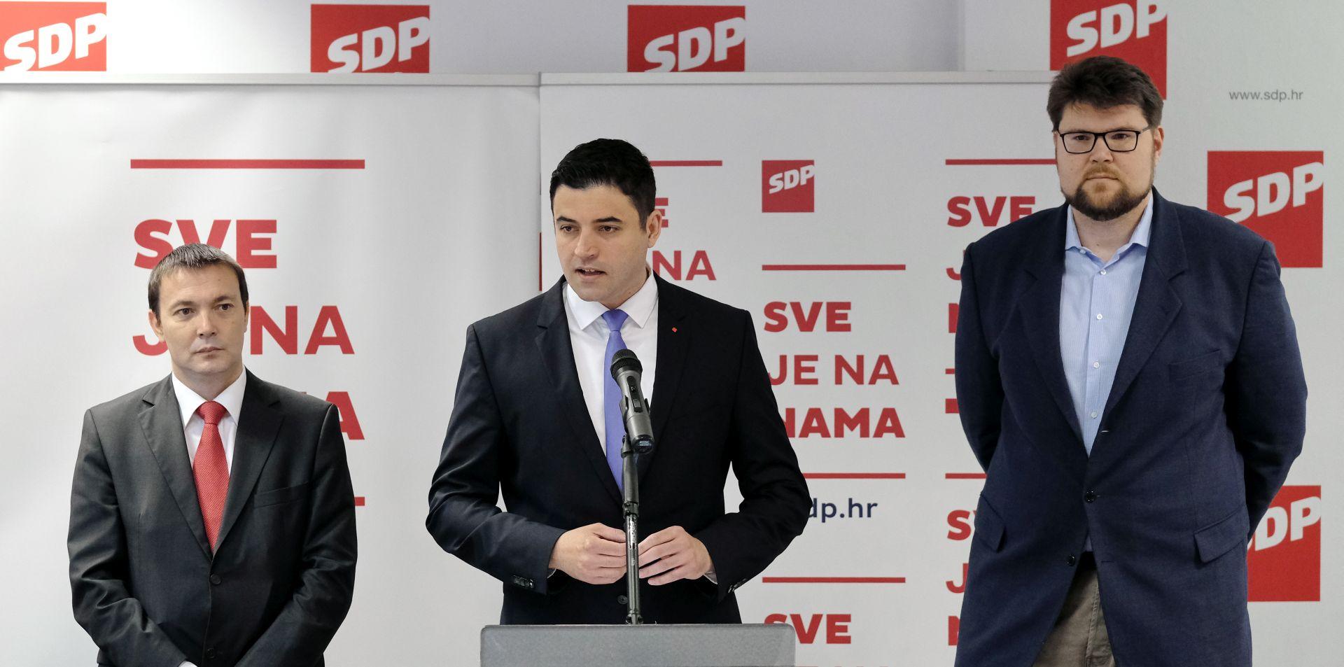 SDP predlaže promjenu Ustava zbog pitanja referenduma