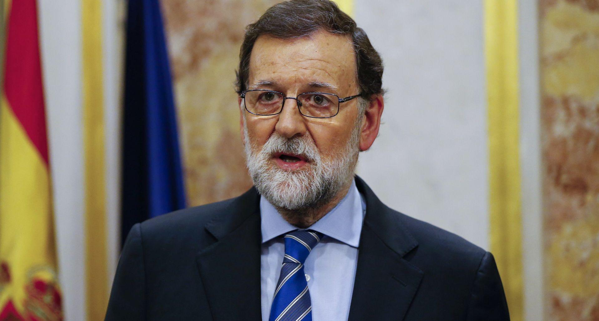 Španjolski parlament u petak glasa o povjerenju Rajoyu