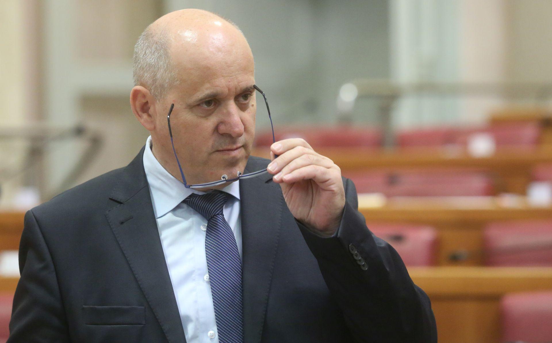 'Danas se neće glasovati o lex LNG'