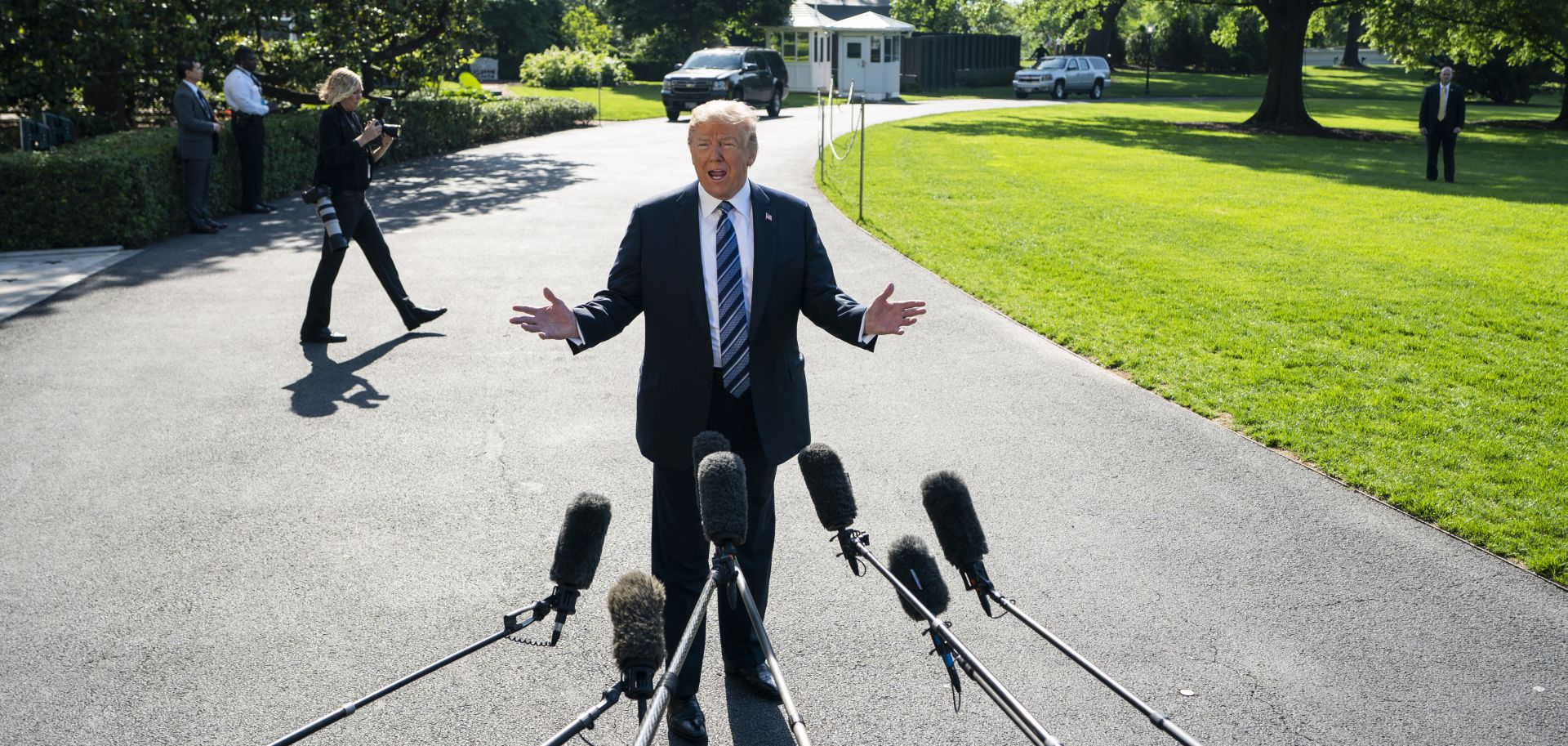 Trump tvrdi da nema sukoba u Bijeloj kući oko Sj. Koreje