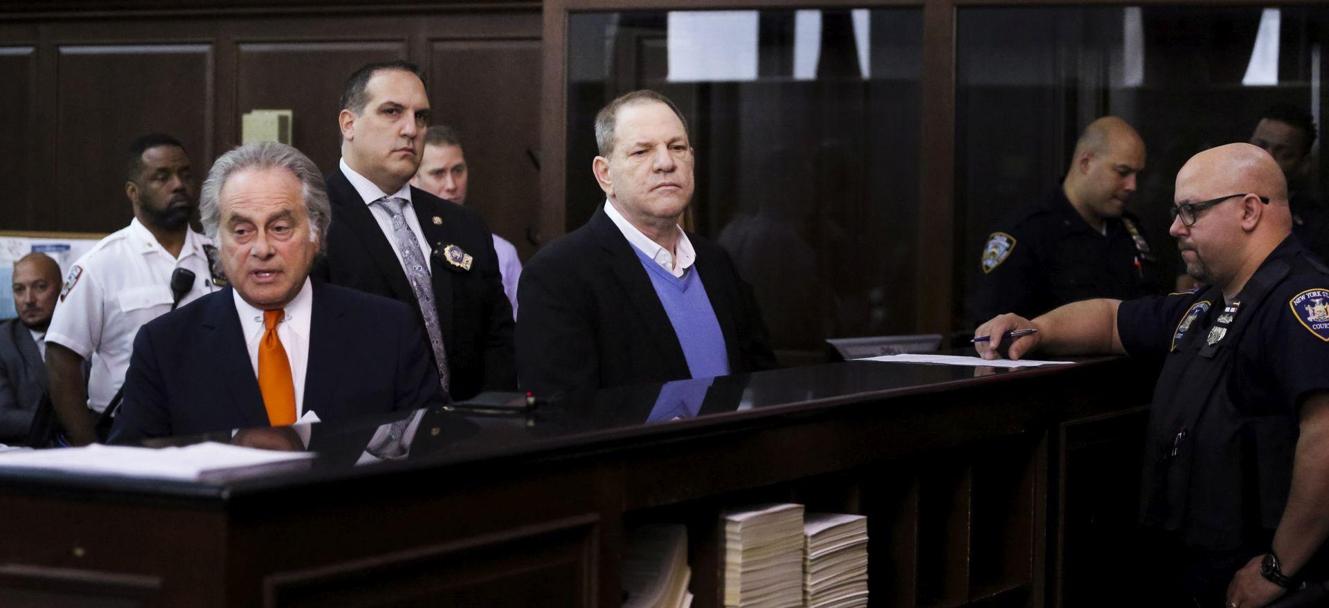 Weinstein na slobodi uz jamčevinu od milijun dolara