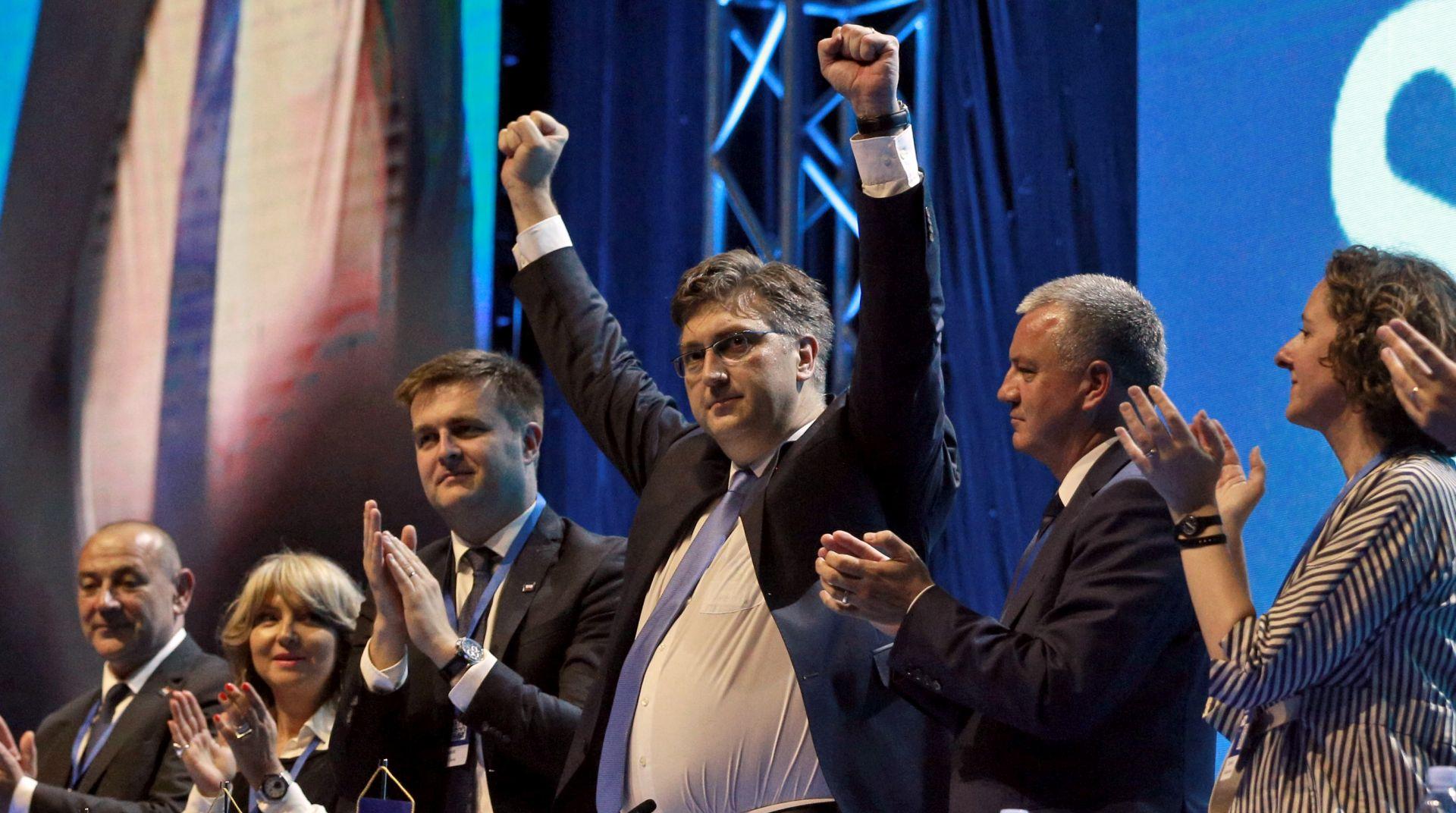 HDZ se oporavio, SDP stabilan, Živi zid ne raste