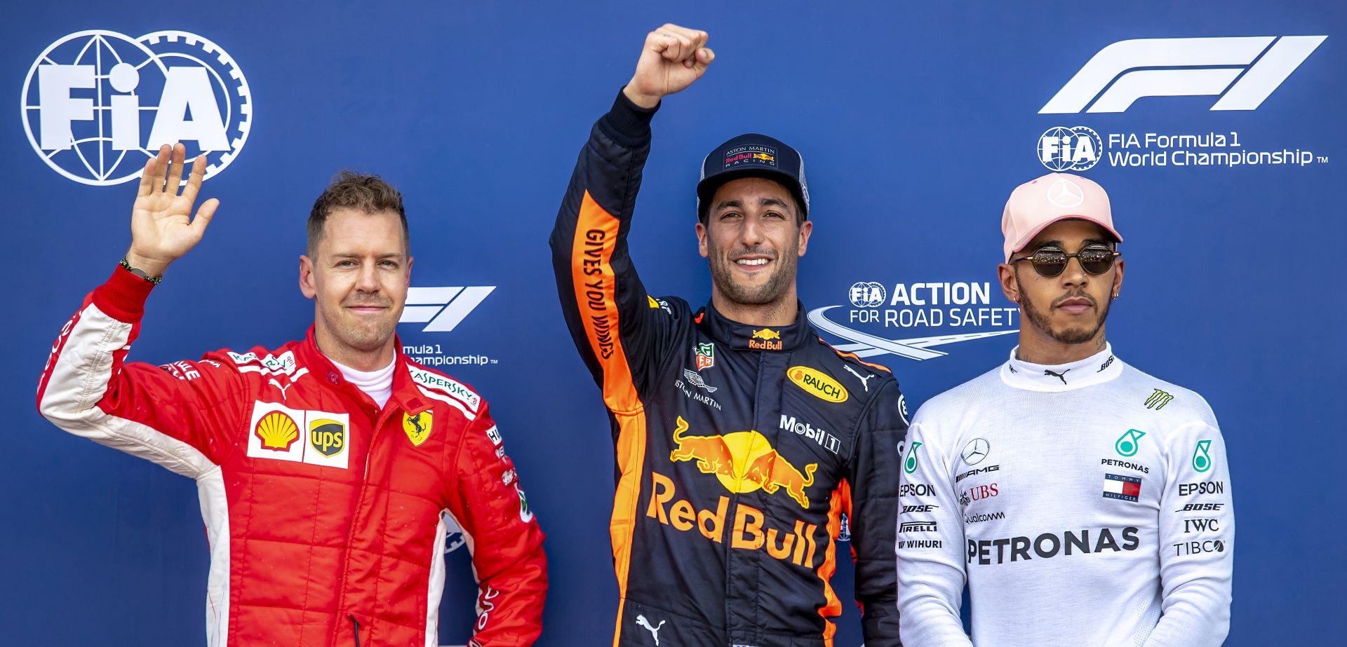 VN MONACA Ricciardu pole position