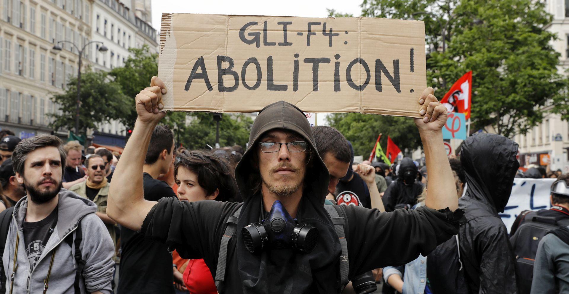 Francuska ljevica predvodila prosvjede protiv Macronovih reformi
