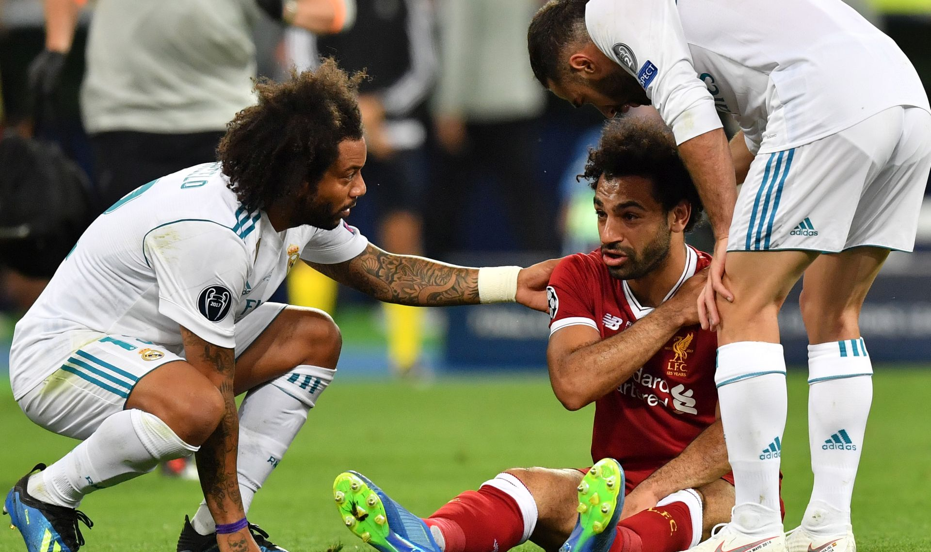 VIDEO: Pogledajte kako se ozlijedio Salah