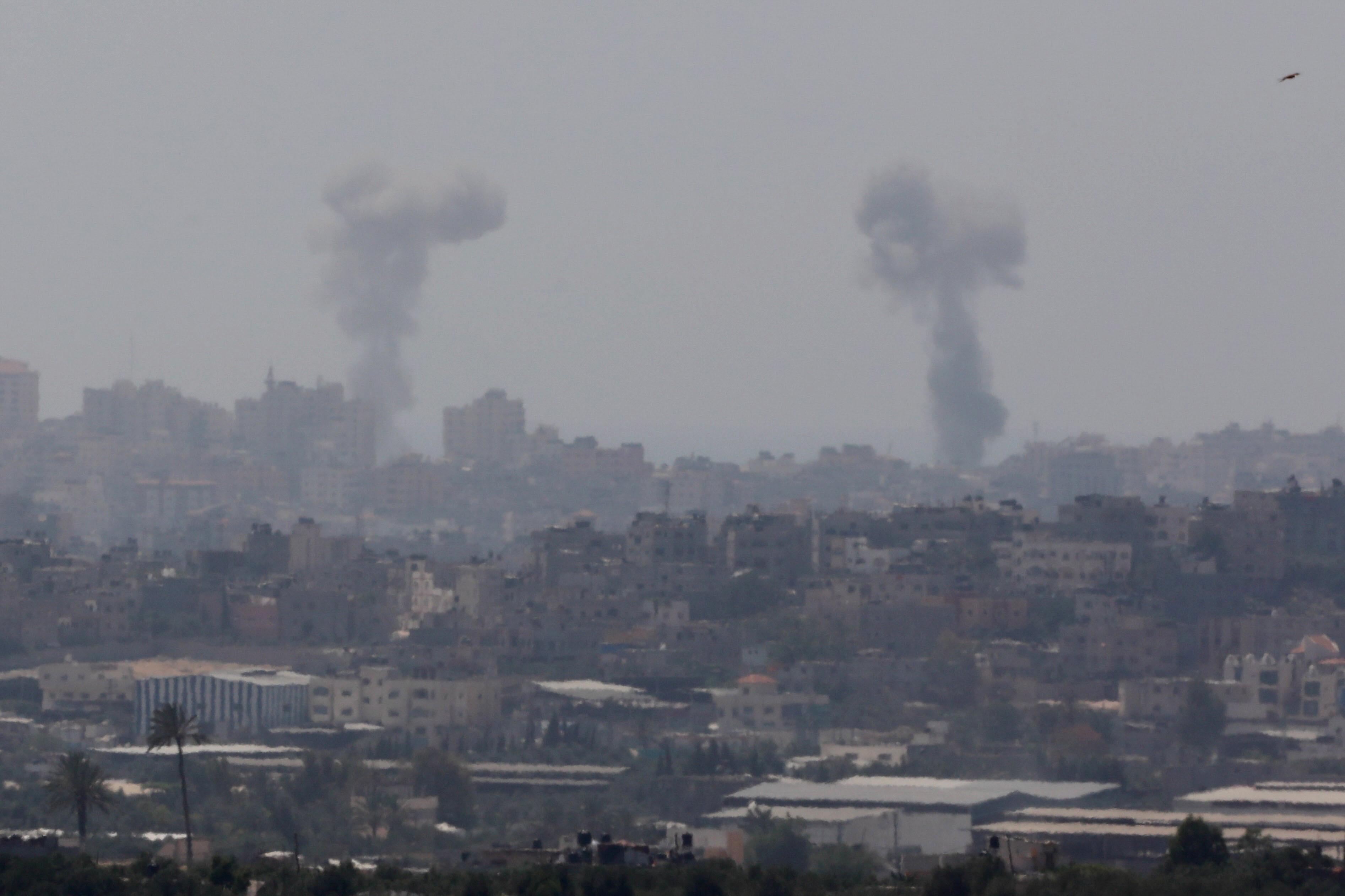 Izrael izveo zračni napad na 25 ciljeva Hamasa