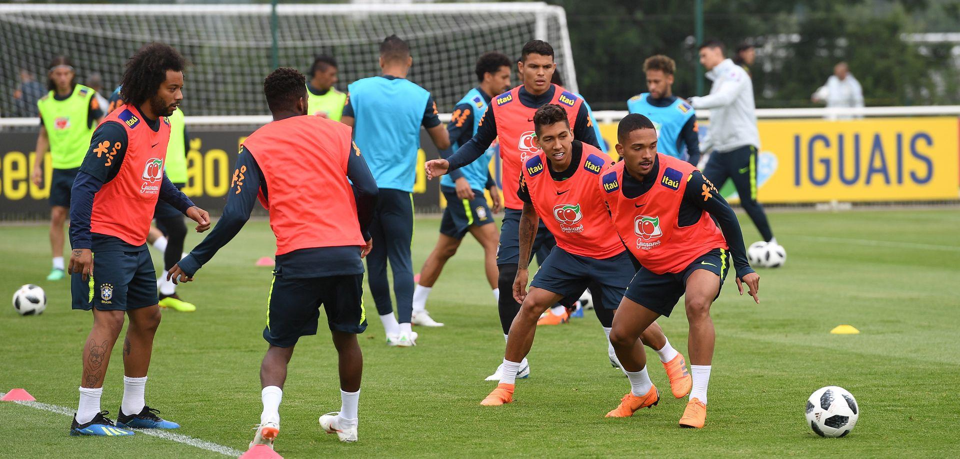Brazilci kompletni, Neymar bi mogao zaigrati protiv Hrvatske