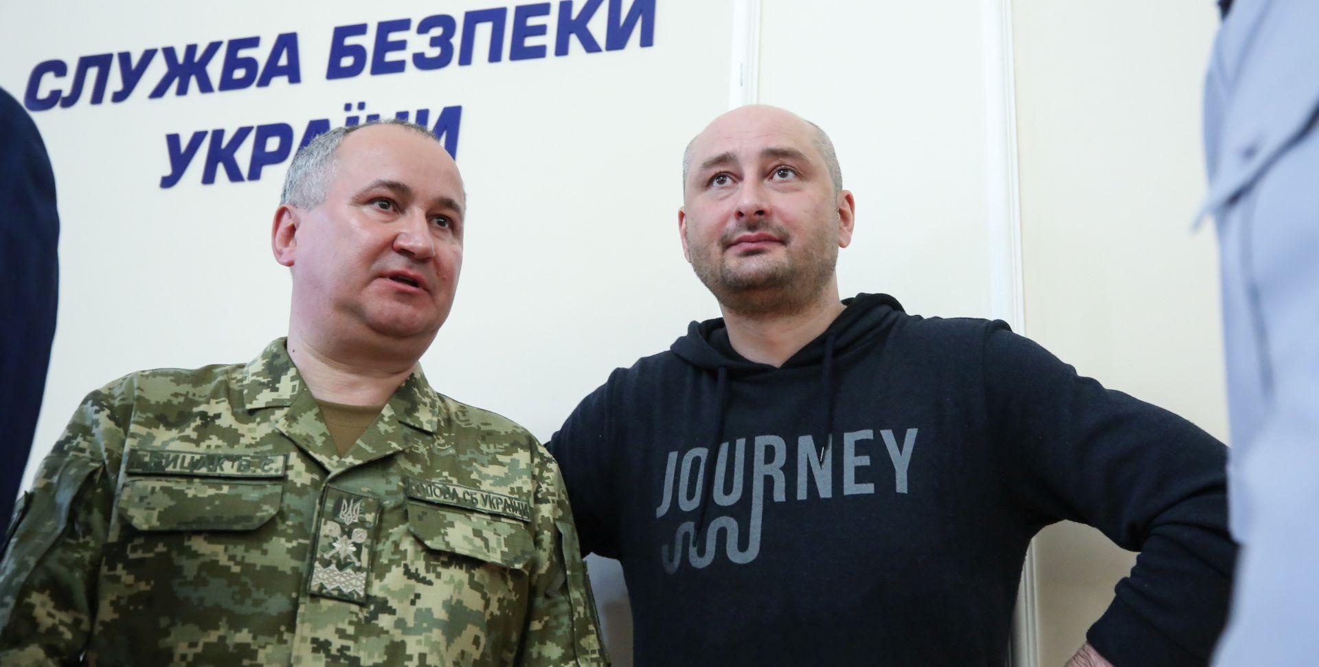 Kijev na meti kritika zbog lažiranja smrti ruskog novinara