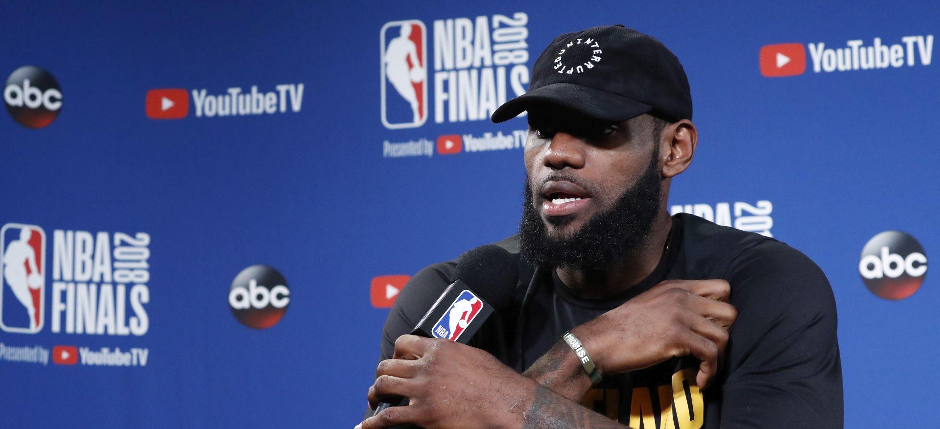 """LEBRON """"Tko god osvoji NBA ne želi poziv iz Bijele kuće"""""""