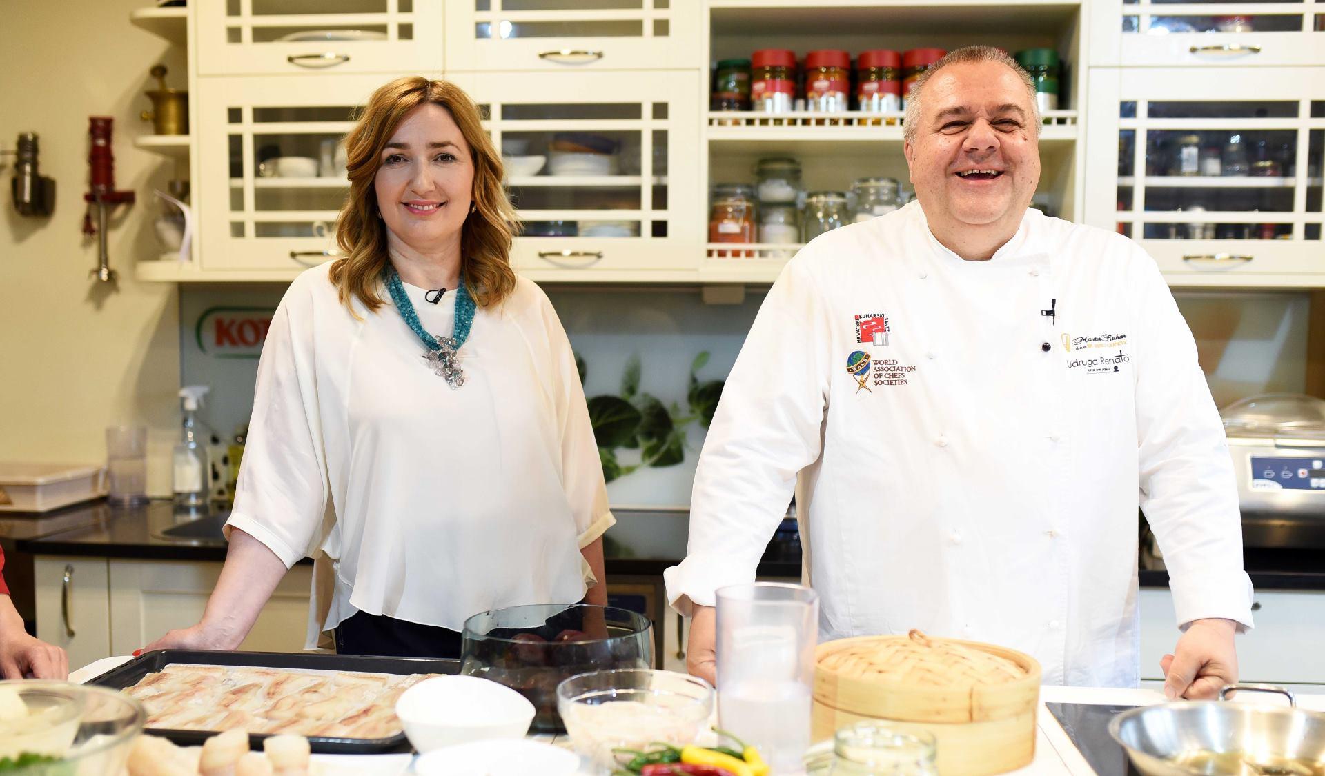ZAKLADA HRVATSKA KUĆA SRCA Organizirana kulinarska radionica kako kuhati sa smanjenim udjelom soli