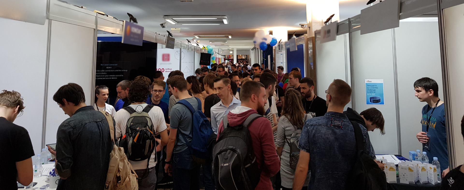Na Job Fairu brojne studenate i štandove poduzeća posjetio i ministar rada