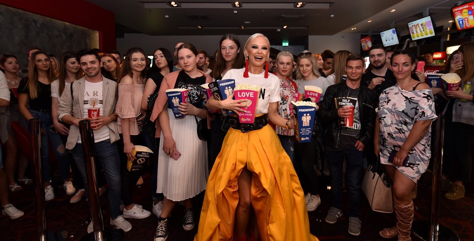 FOTO: Maja Šuput za svoje najvjernije obožavatelje zakupila dvoranu kina