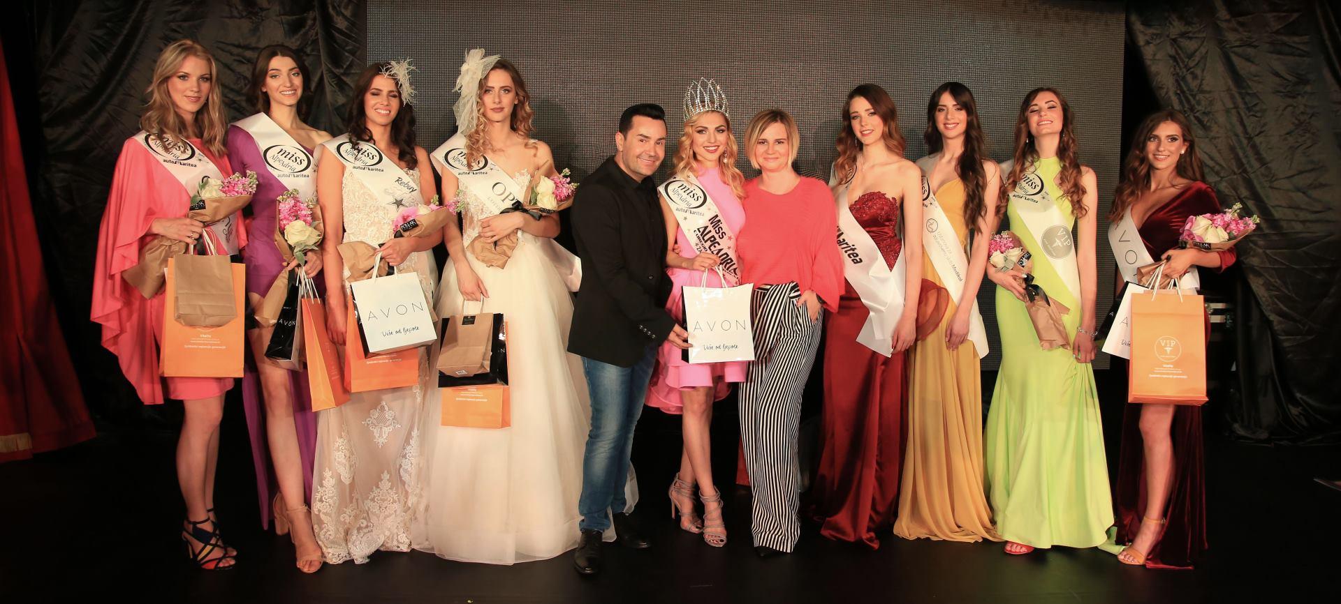 FOTO: Njemica Tatjana Genrich izabrana za Miss Alpe Adria International