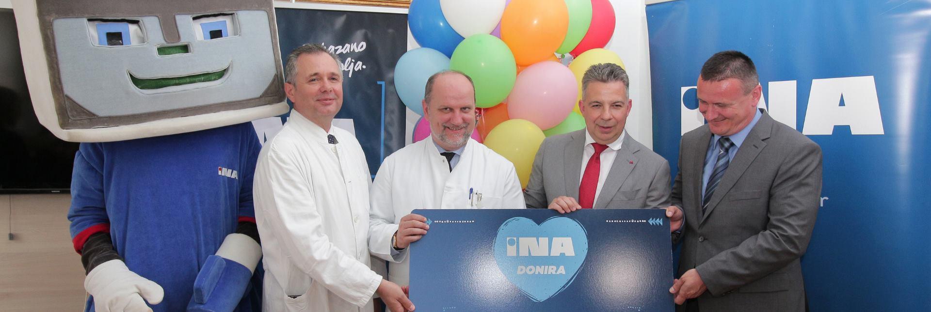 INA uručila donaciju Općoj bolnici 'Dr. Josip Benčević' u Slavonskom Brodu