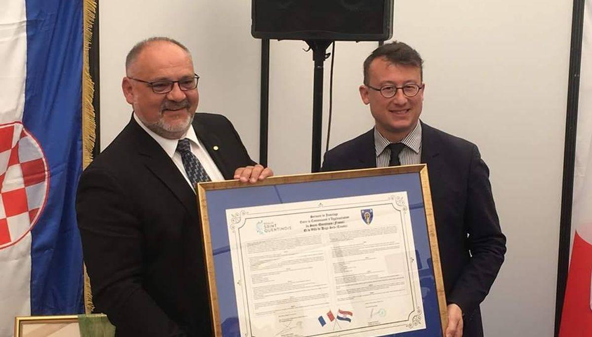 Potpisan novi Sporazum o prijateljstvu i suradnji Dugog Sela i Aglomeracijske zajednice Saint-Quentinois