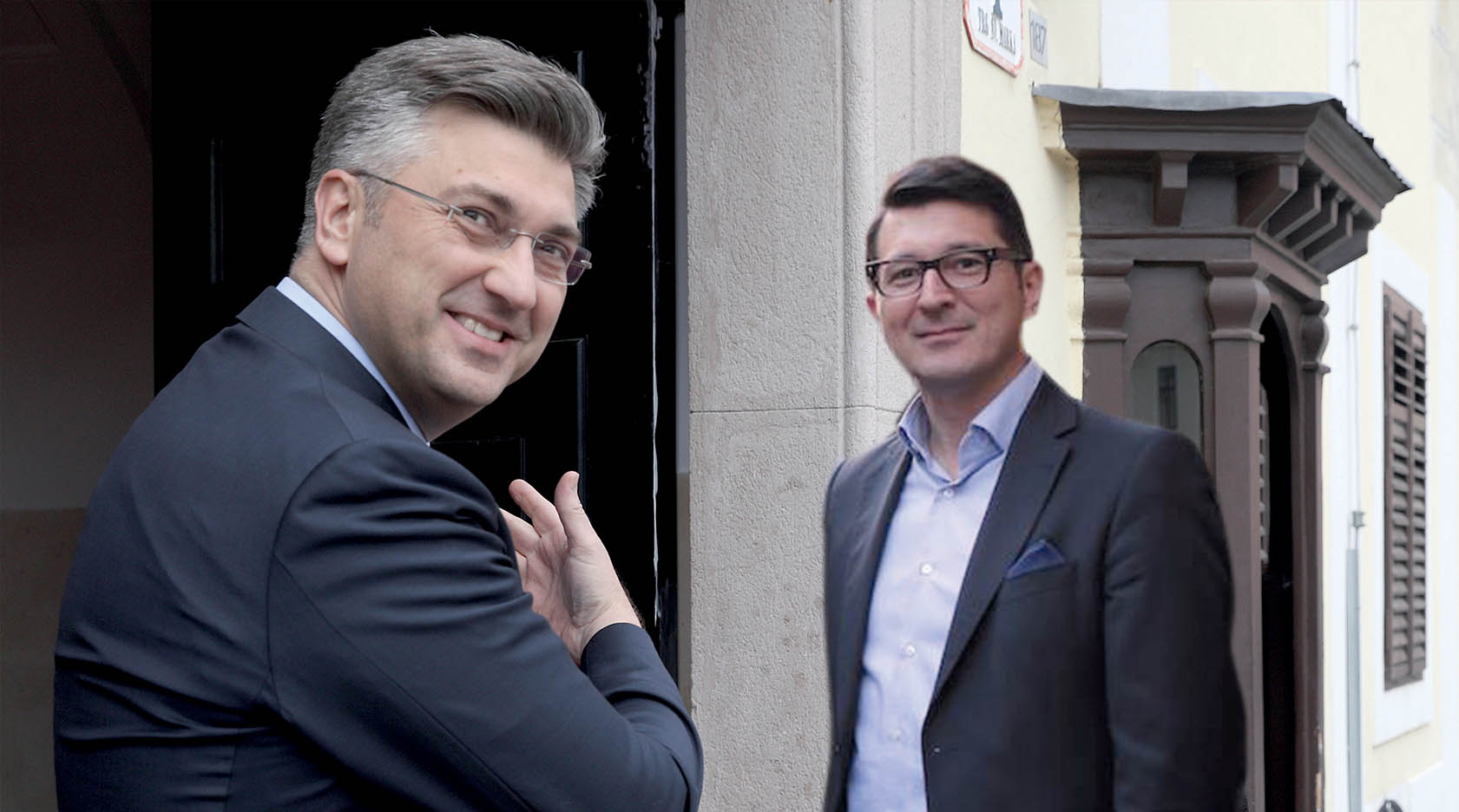 EKSKLUZIVNO Plenković doveo Šavorića u Banske dvore