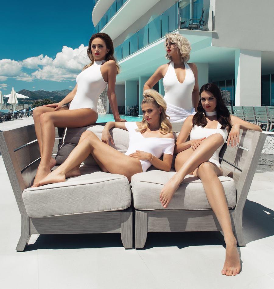 Ana Vilenica, Ana Begić Tahiri, Ivana Mišura i Ivana Delač Đolo odradile photoshooting u Importanne resortu Dubrovnik