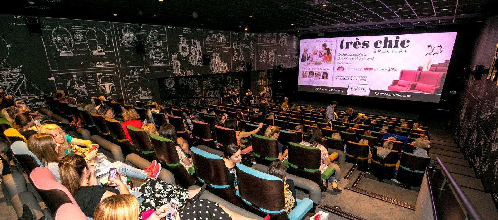 TRES CHIC Film 'Klub zadovoljnih žena' izazvao ogroman interes ženske kino publike