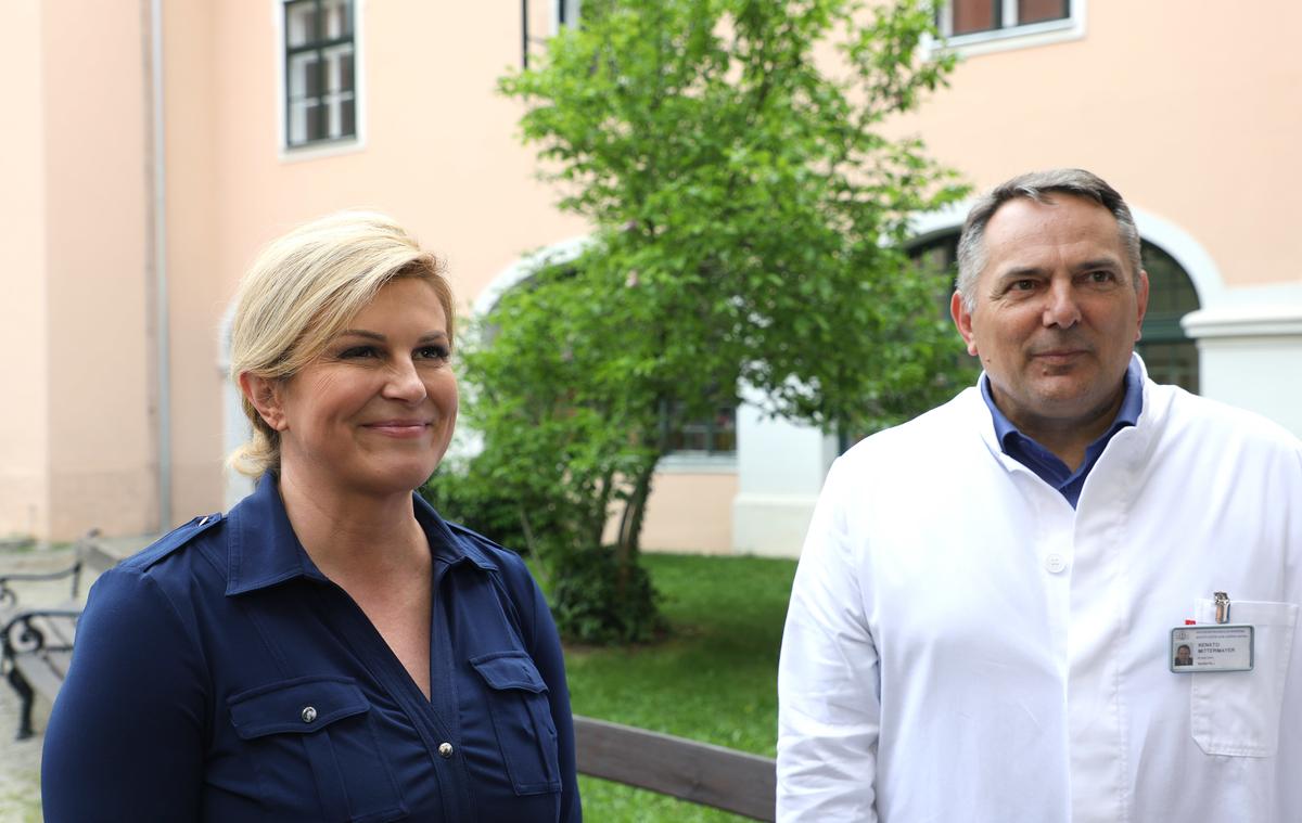 Predsjednica posjetila Specijalnu bolnicu za kronične bolesti dječje dobi