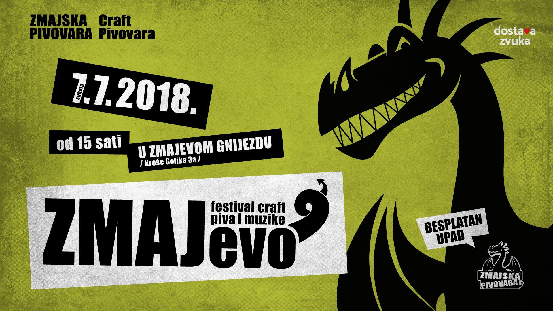 ZMAJEVO Festival dobrog craft piva i dobre muzike
