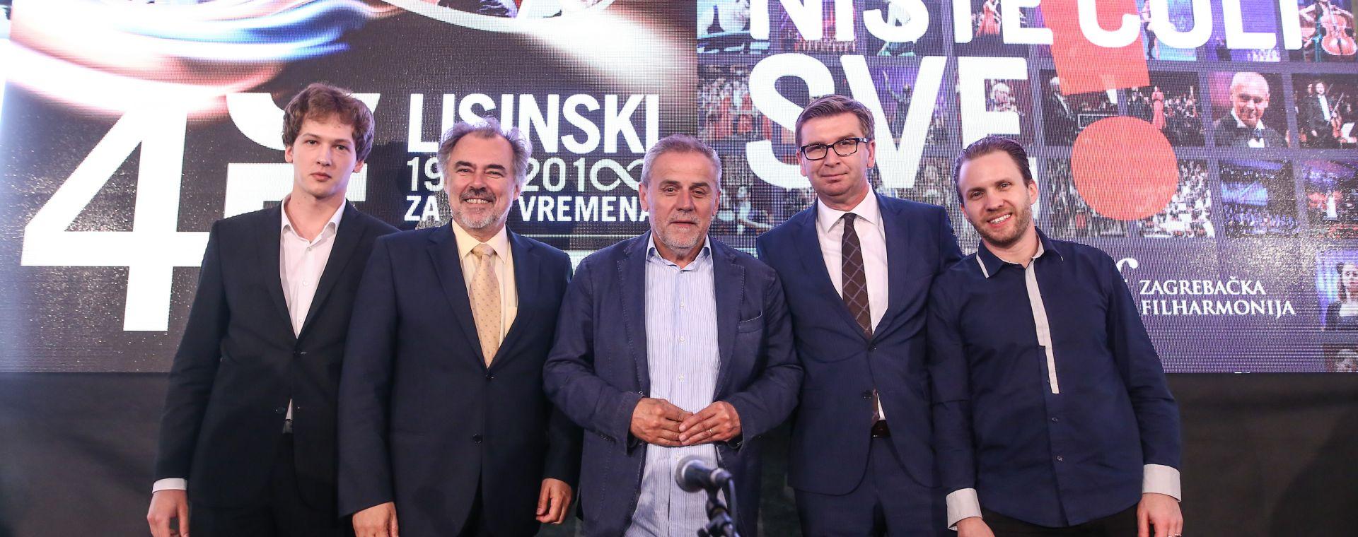 LISINSKI I ZAGREBAČKA FILHARMONIJA Predstavljena nova sezona
