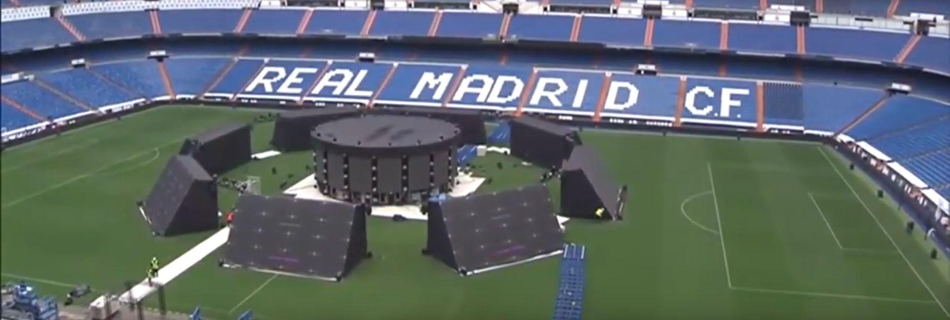 VIDEO: 80 tisuća navijača na Bernabeuu bodri Real
