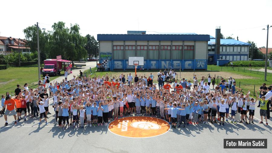 DOBRODOŠLA DOMA Cedevita obnovila košarkaško igralište u Botincu