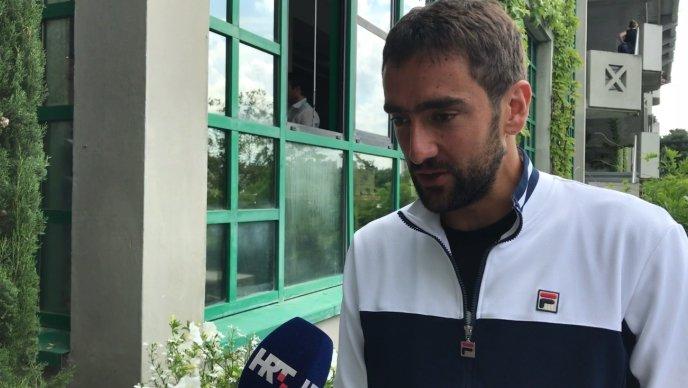 """VIDEO Čilić: """"Svi mečevi ovdje su dugi i jako zahtjevni, i psihički i fizički"""""""