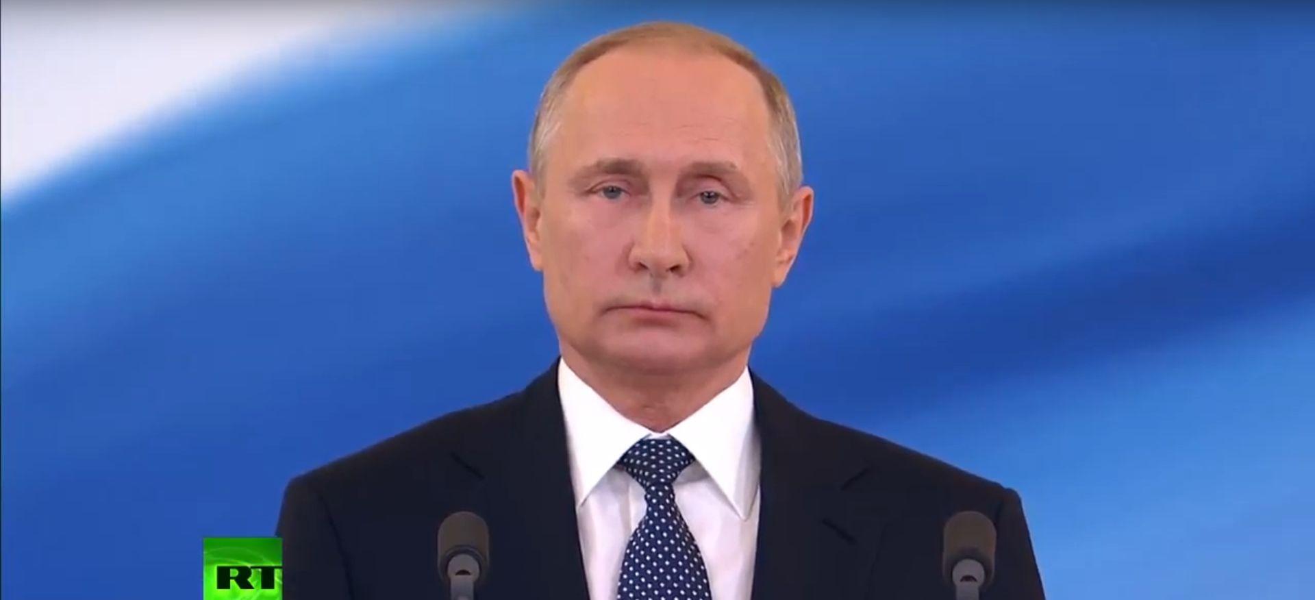 VIDEO: Inauguriran Vladimir Putin