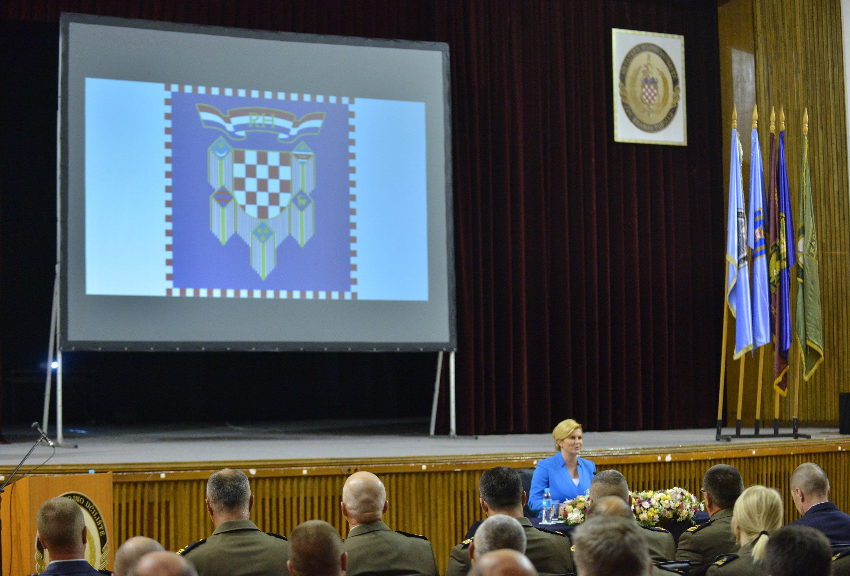 HVU Predavanje predsjednice Grabar-Kitarović o stabilnosti jugoistočne Europe