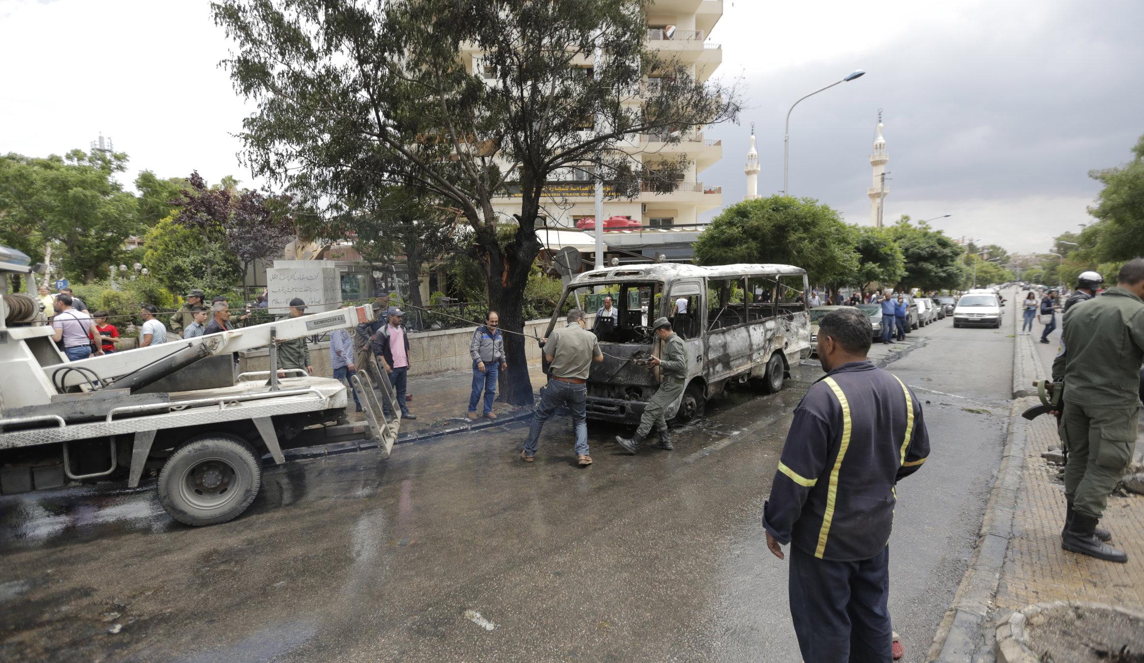 Sirijske vladine snage potpuno nadziru područja južno od Damaska