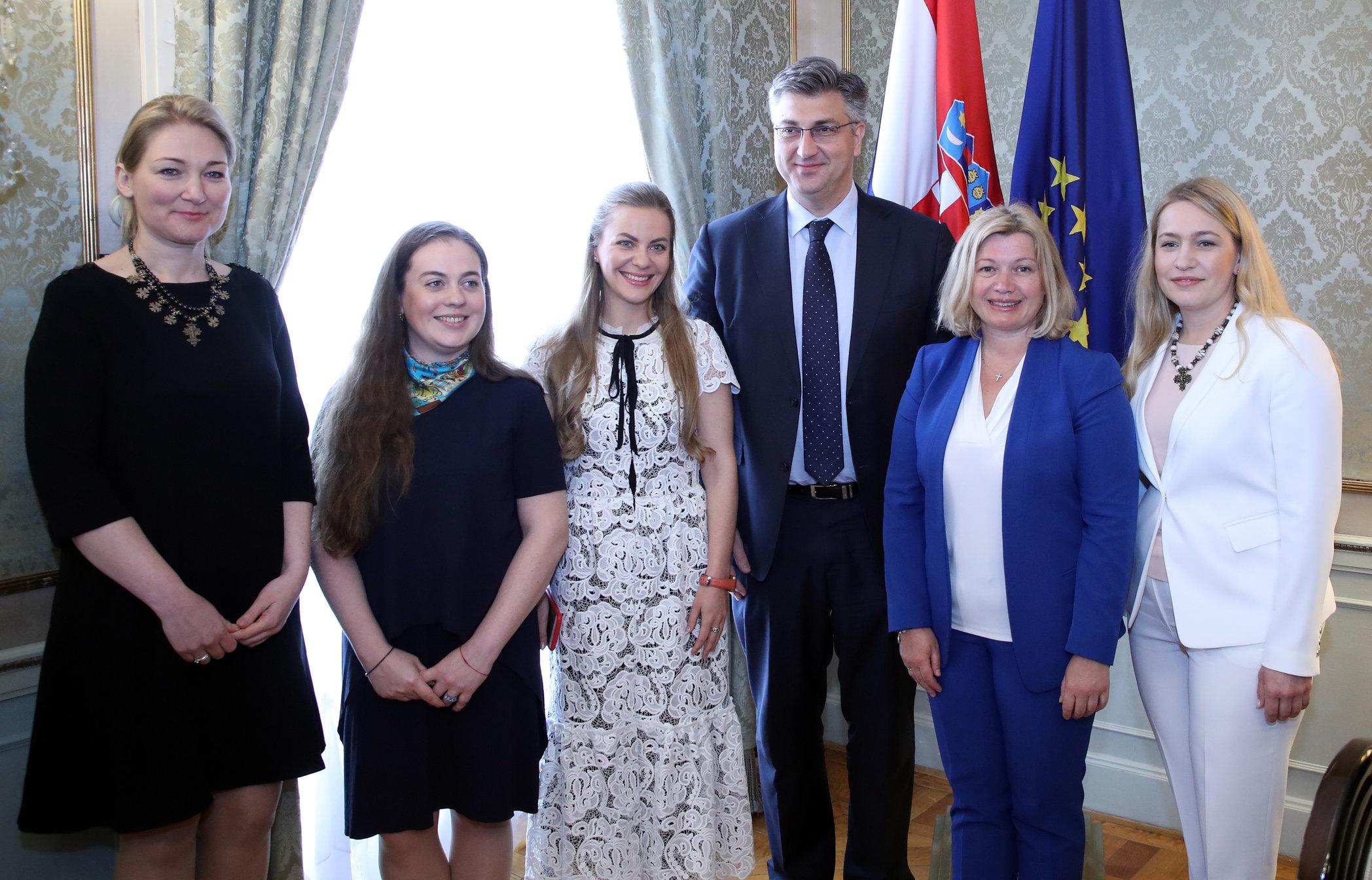 Plenković ukrajinskoj dužnosnici poručio da snažno podupire cjelovitost Ukrajine
