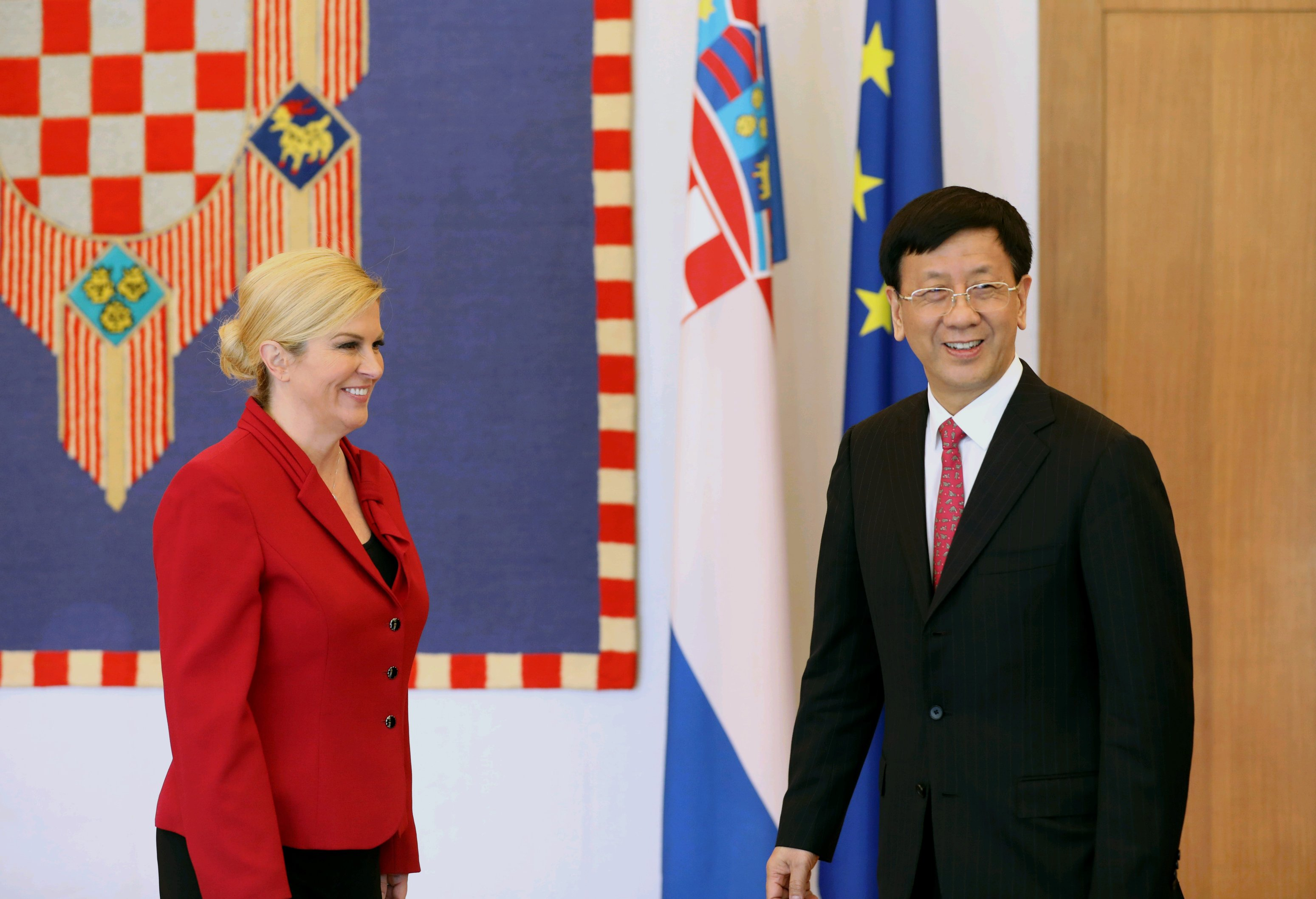 Predsjednica Grabar-Kitarović se nada novim kineski ulaganjima