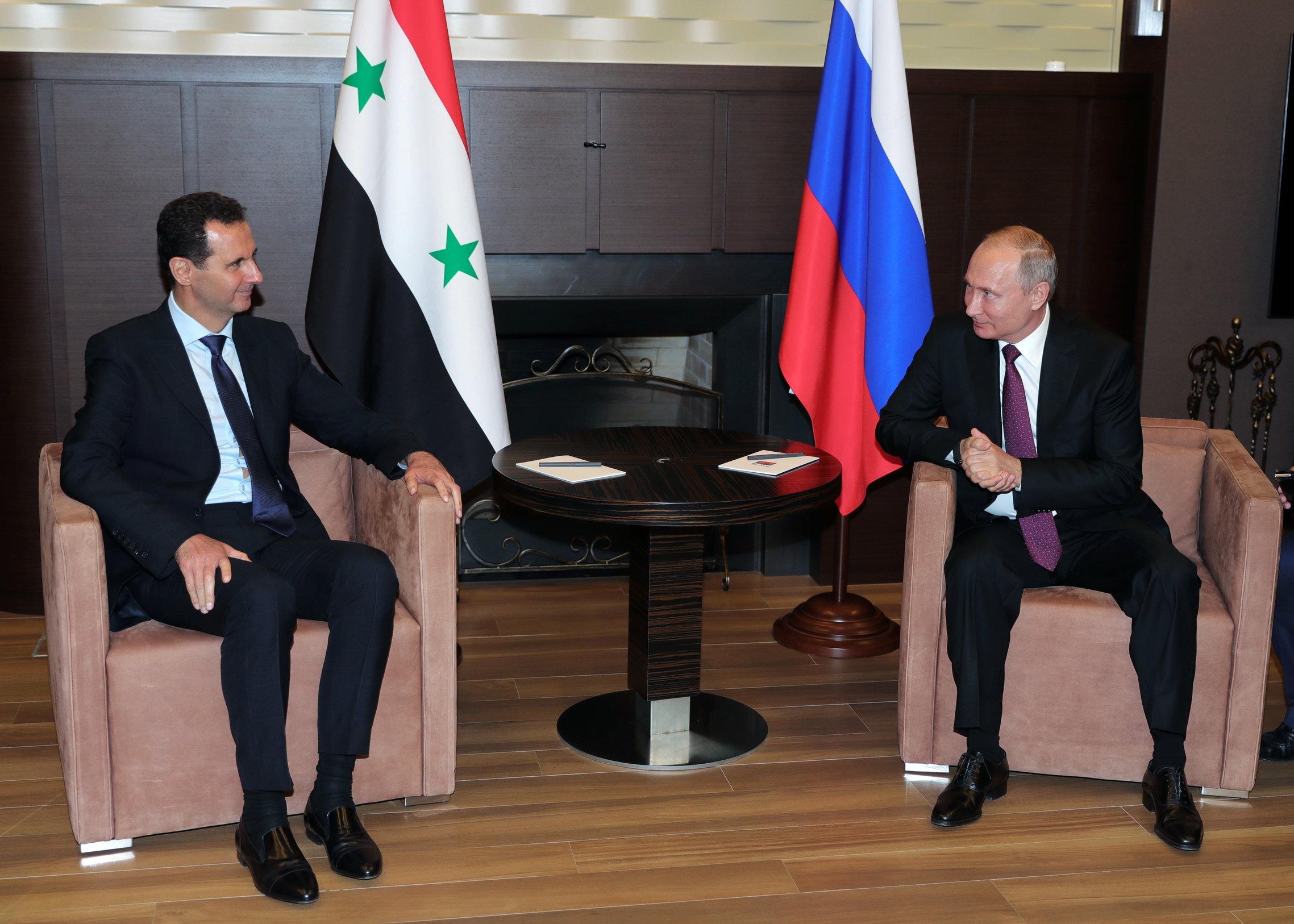 Assad posjetio Putina u Sočiju