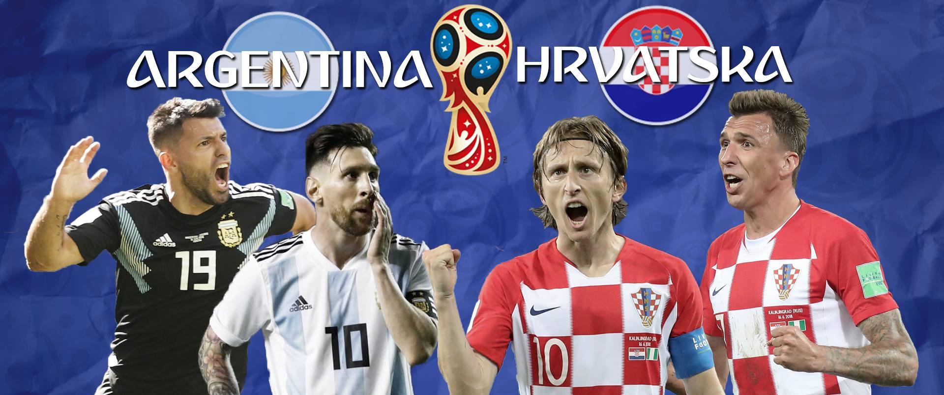 ARGENTINA – HRVATSKA 0:3 Rakitić zabio za potpuni potop Argentine, Hrvatska u osmini finala
