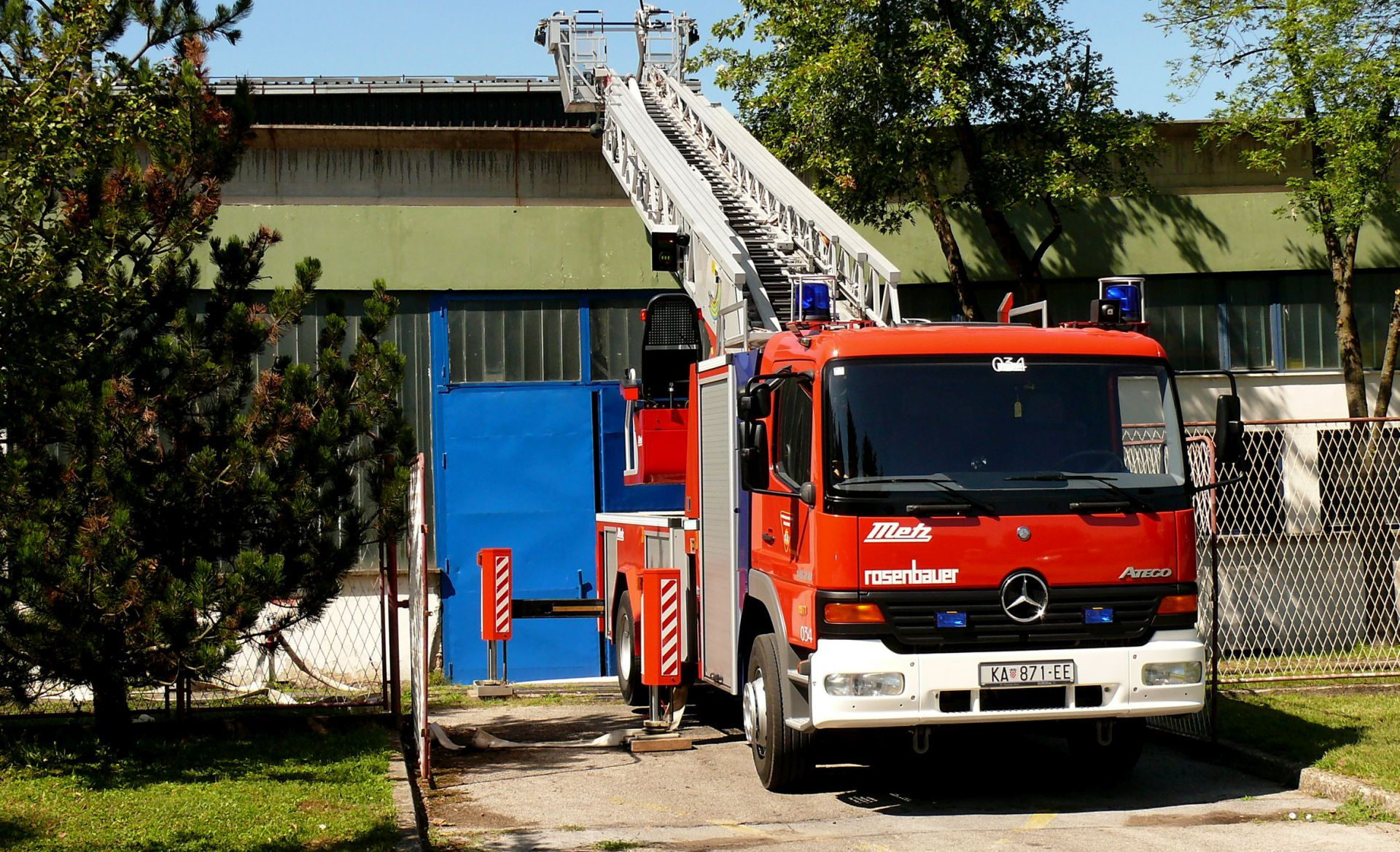 Lokaliziran požar u tvornici Pan u Zagrebu