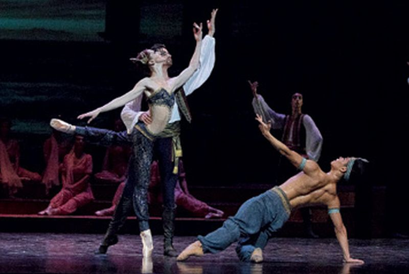 Prva hrvatska premijera baleta 'Gusar' u HNK Split