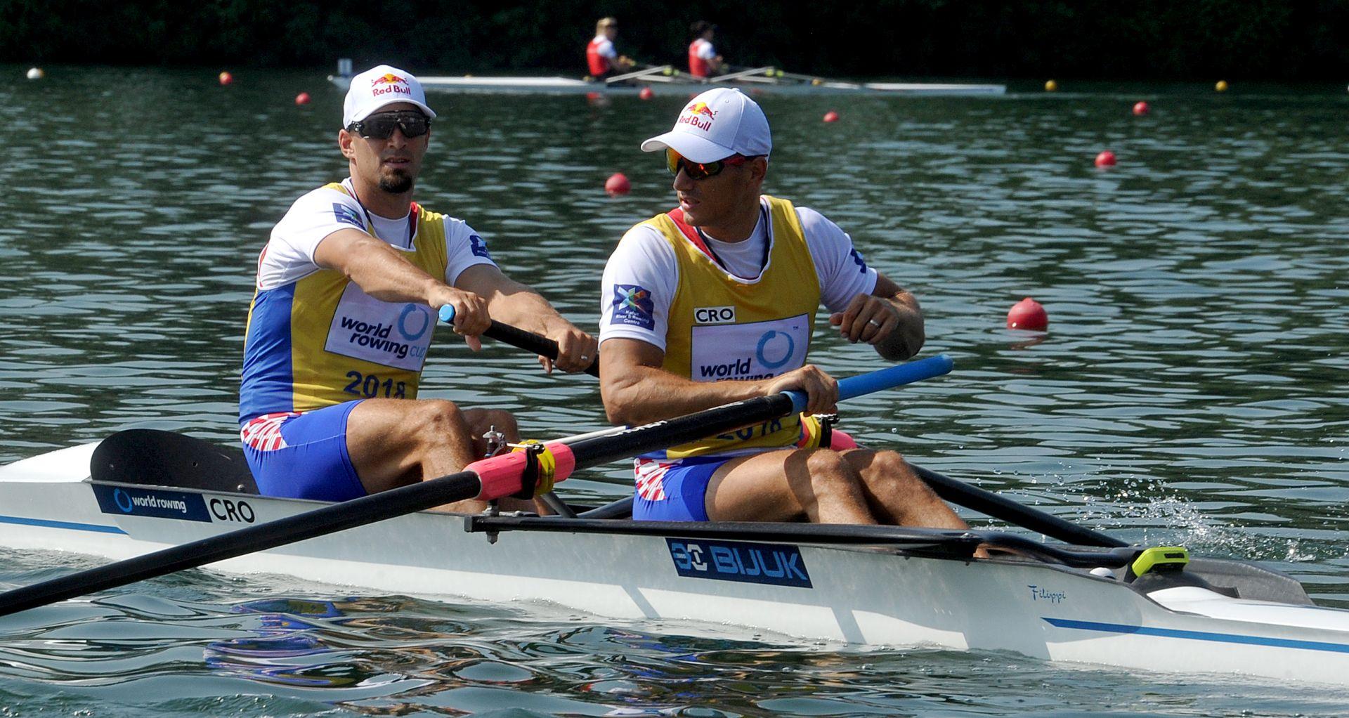 SP veslanje: Braća Sinković u četvrtfinalu