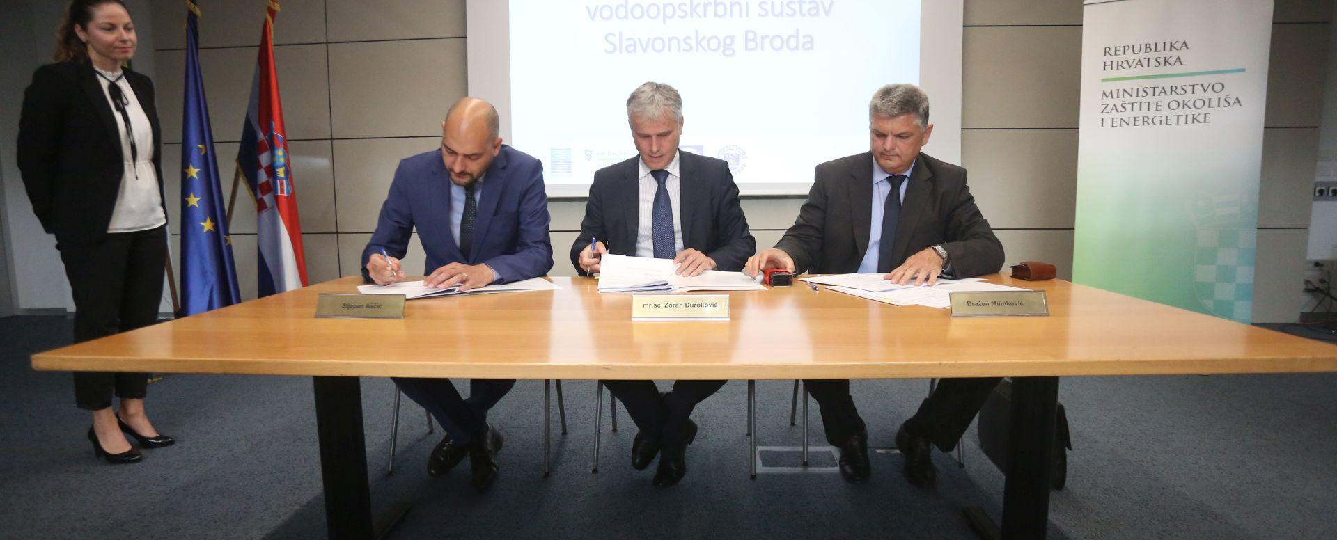 Potpisan sporazum o razvoju vodoopskrbnog sustava