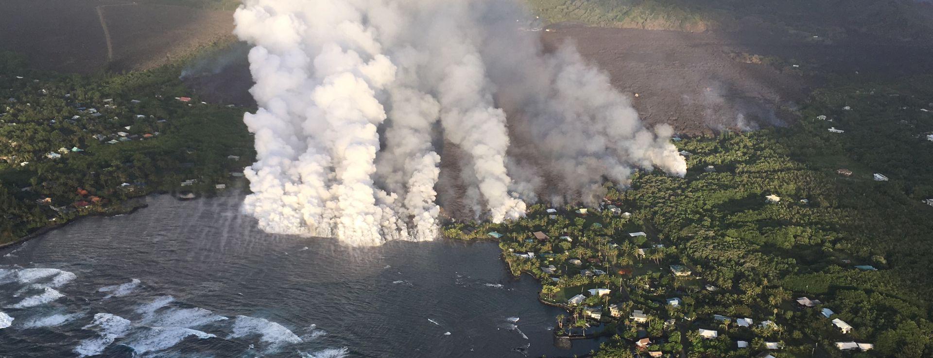 Rijeke lave uništile 600 domova na havajskome Velikom otoku